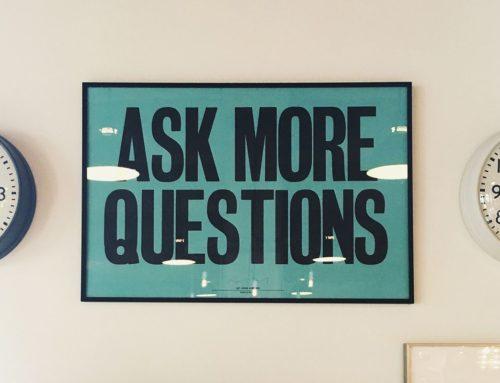 Stellen Sie gute Fragen und erhalten Sie bessere Antworten
